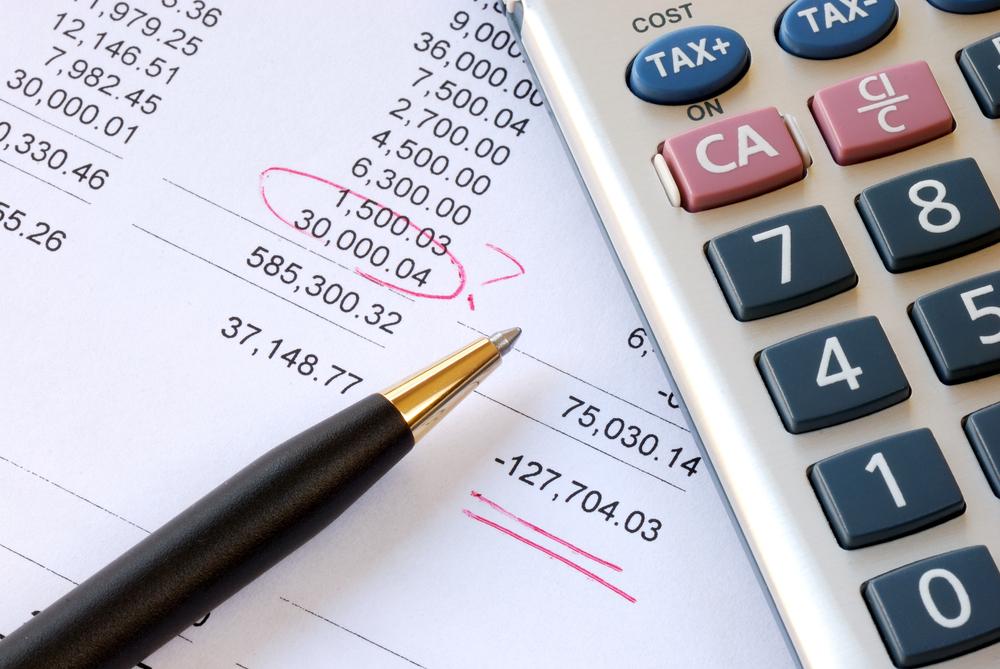 خطاهای حسابداری